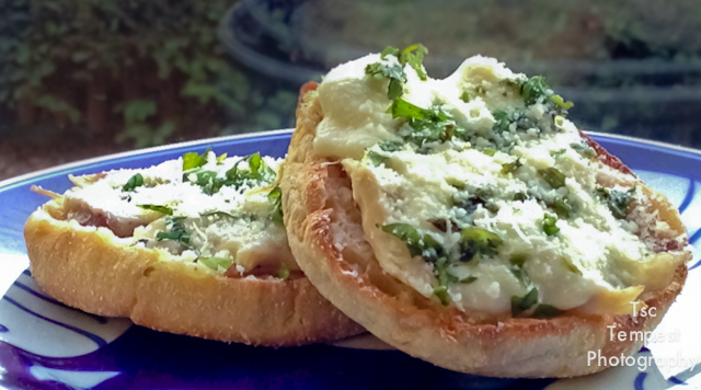Today's Sandwich – Chicken, Mozzarella & Coriander on Toast