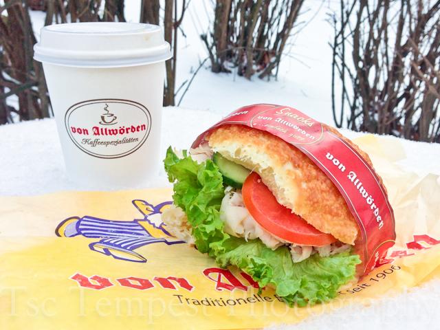 Today's Sandwich – Putenbrust Brötchen