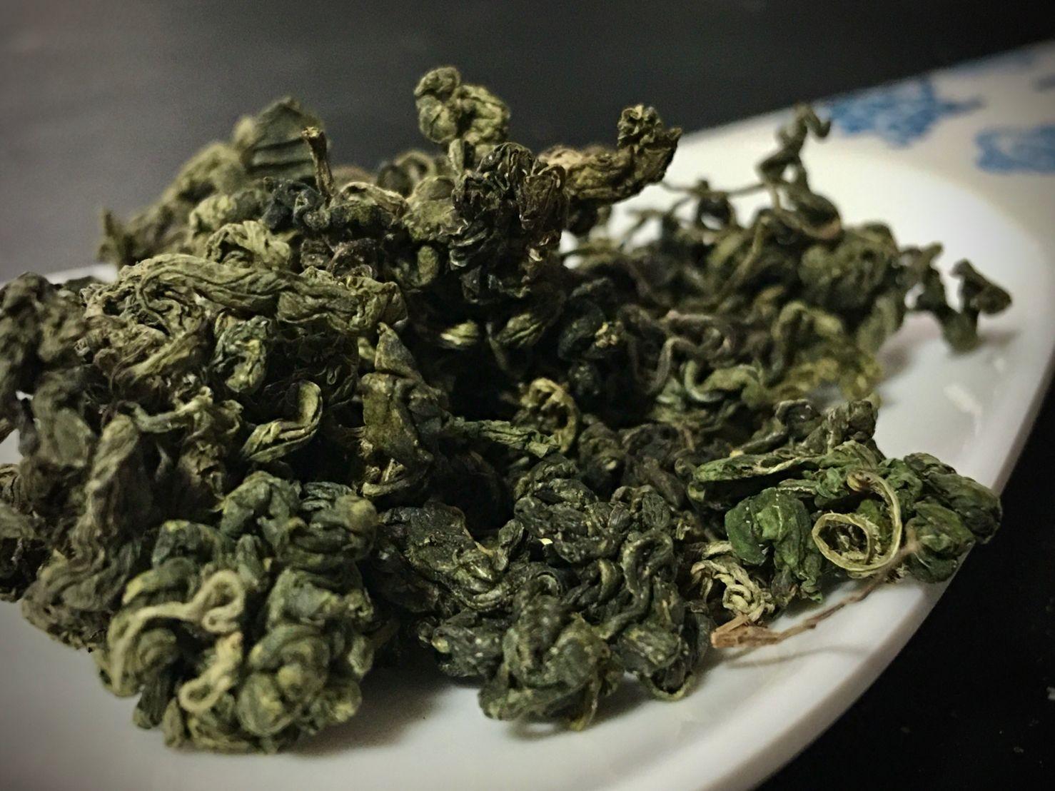 Yě Shēng Qī Yè Jiǎo Gǔ Lán Chá, 野生七叶绞股蓝茶, Wild Seven Leaves Jiaogulan Tea