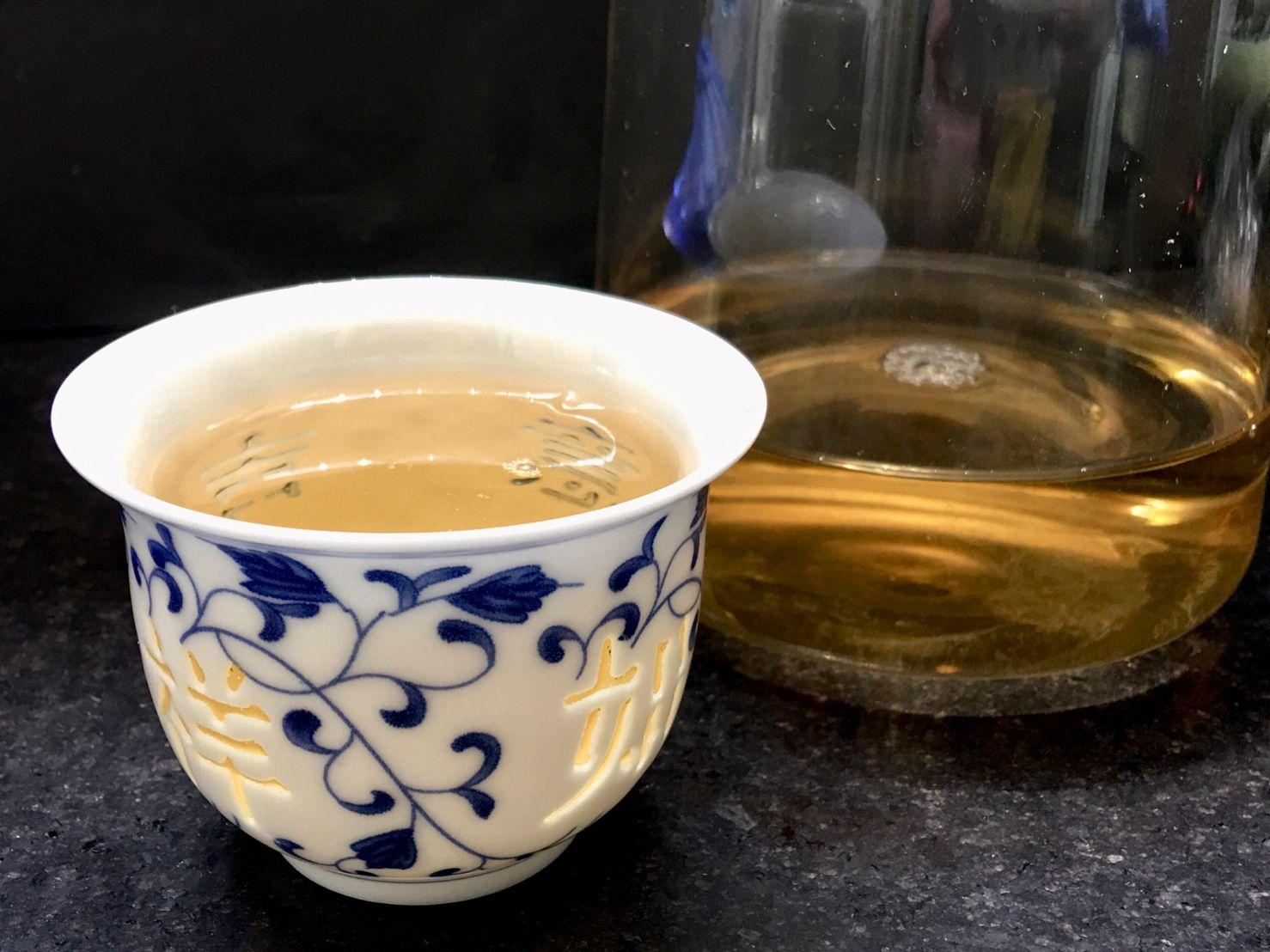 Yún Nán Yuè Guāng Bái Chá, 云南月光白茶, Yunnan Moonlight Beauty White Tea