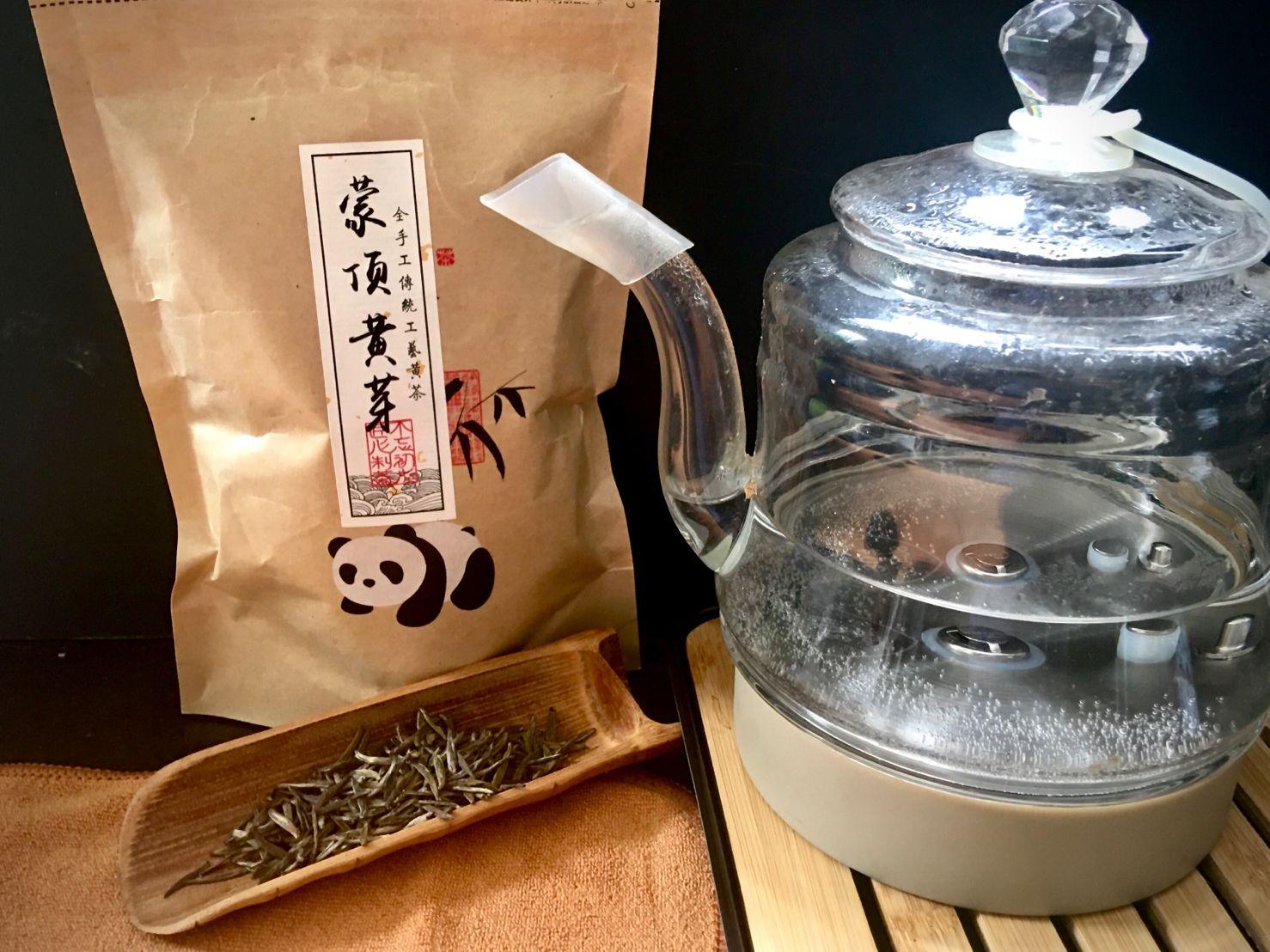 Méndǐng Huáng Yá Chá, 蒙顶黄芽茶, Mending Yellow Bud Tea