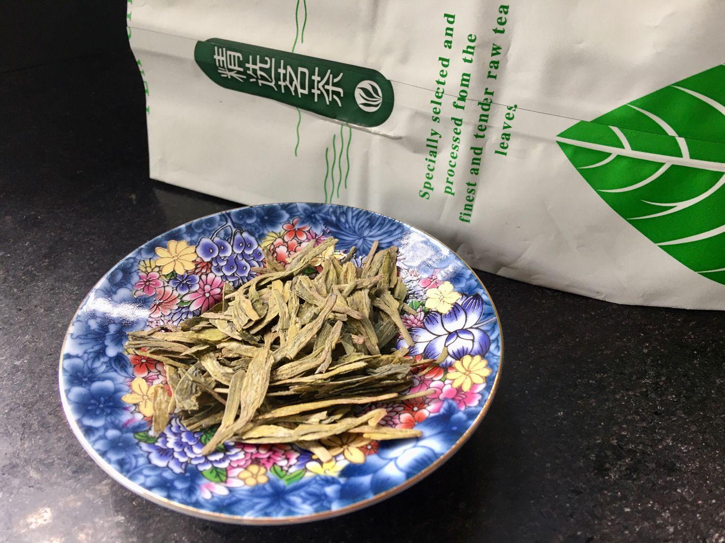 Lóng Jǐng Lǜ Chá, 龙井绿茶, Dragon Well Green Tea